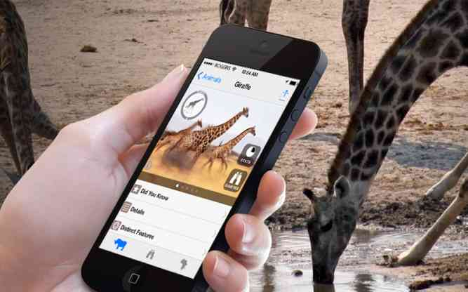 Record game sightings on your iOS device as you travel by ABS