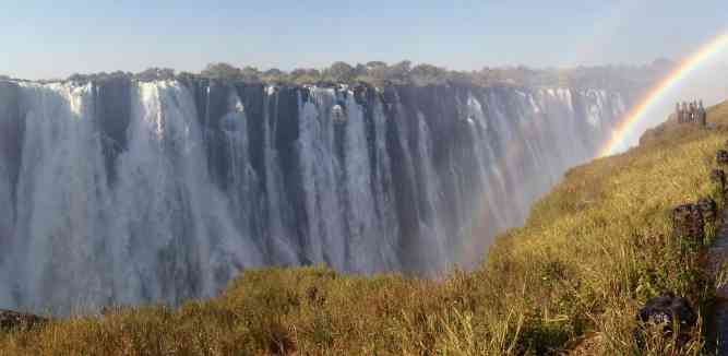 Victoria Falls panorama by Tee La Rosa