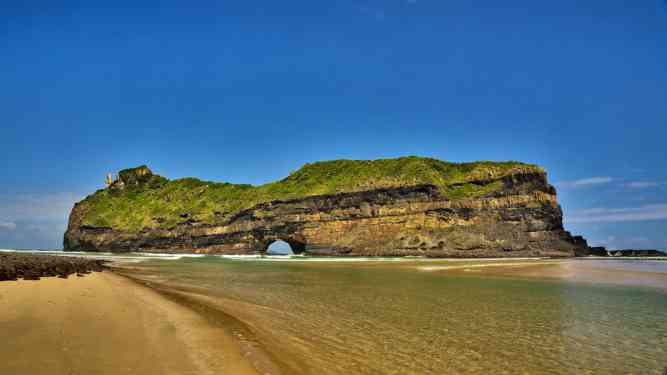 Hole in the Wall, on South Africa's Wild Coast by