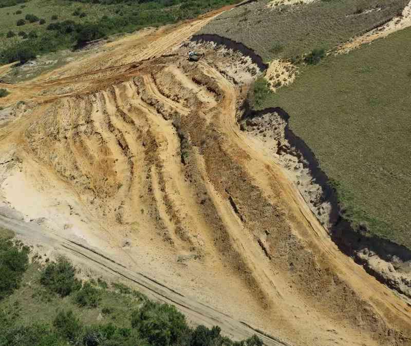 Illegal Wild Coast Sand Mining