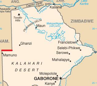 Okavango Delta Explained   About Botswana's Delta ... Okavango Basin Map