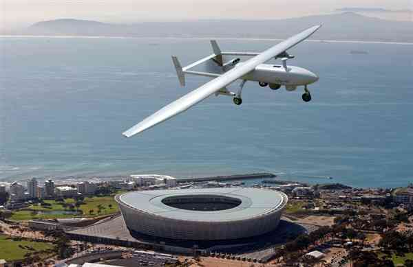 Drone cape town by Times Asi