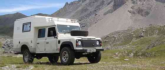 Land Rover Azalai Conversion by http://www.harris.gb.net/