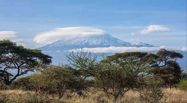Kilimanjaro from Amboseli, Kenya by Ninara