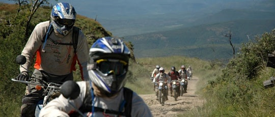 The Enduro Africa route is constantly evolving by Charity Cycles