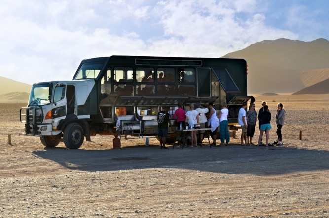 Overlanding Through Namibia by