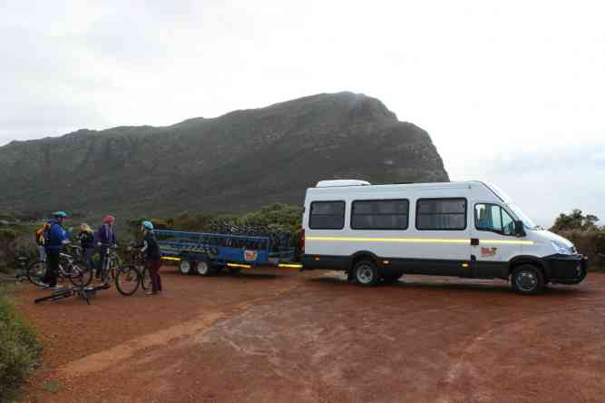 Cape Point Cycling Tour with Daytrippers by African Budget Safaris