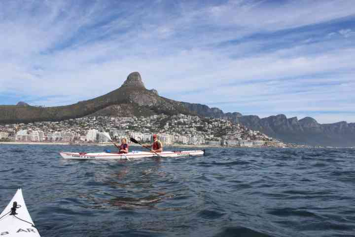 Kayaking Trips in Cape Town