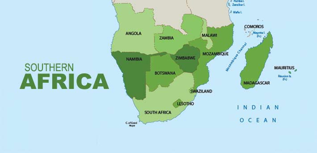 Southern African Biomes Part I South Africa - South africa map countries