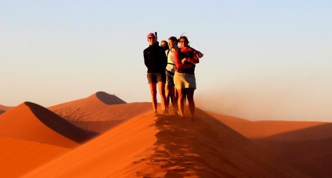 Dune 45, namibia by Landia Davies