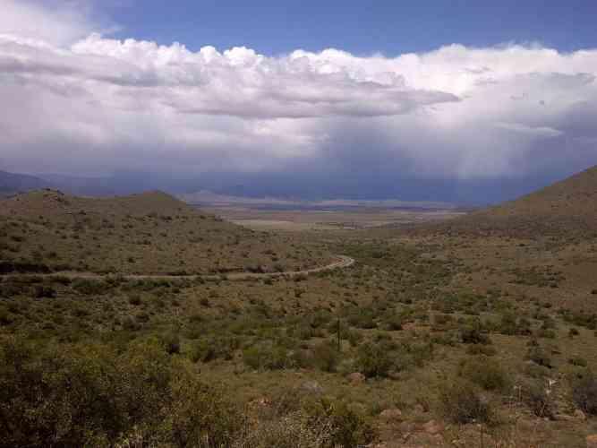 Karoo landscape by Kate Chisholm
