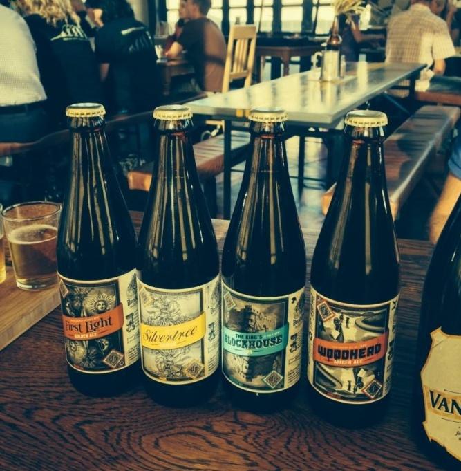 Devils Peak Brewery by Mellany Fick