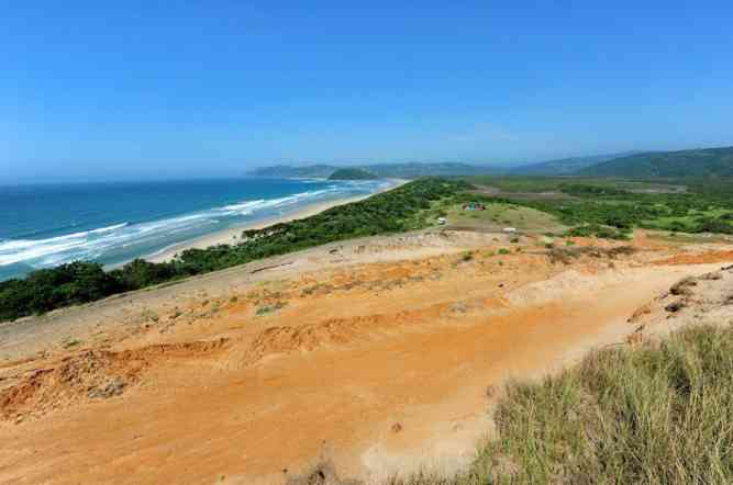 Mined coast by  Illegal Wild Coast Sand Mining