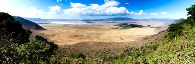 Ngorongoro crater tanzania by Christoph