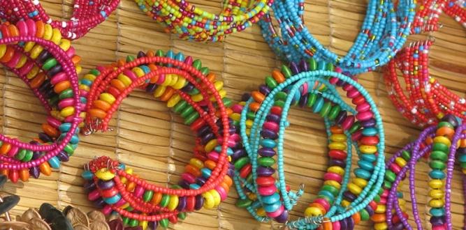 African beadwork by Bronwyn Lewis