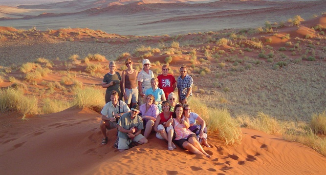 Seniors travel group namibia by