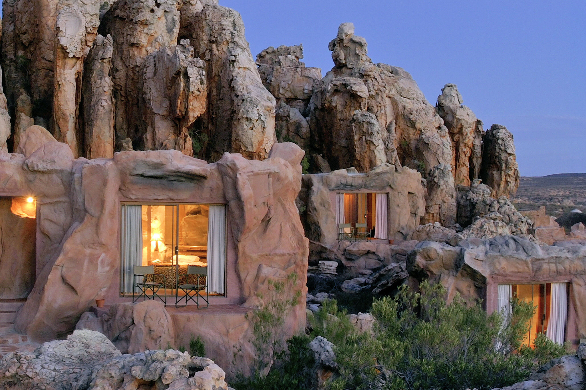 Unusual Accommodation In Africa
