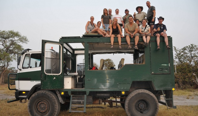 Overland travel in Africa by