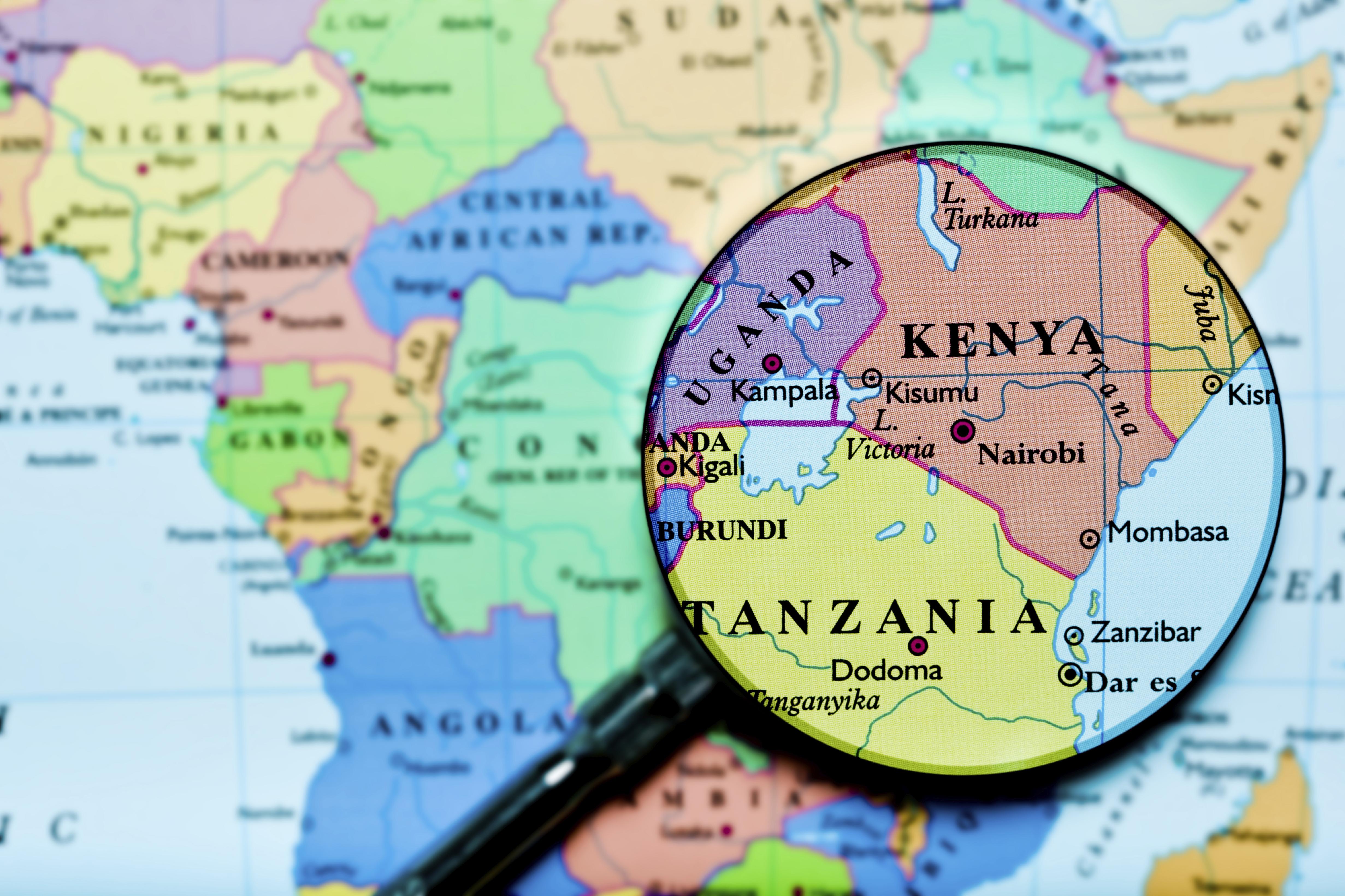 Map Of Africa Tanzania.Tanzania Vs Kenya Best Safari Country In Africa Compare Kenya