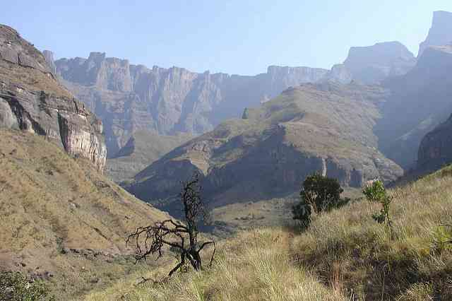 The Majestic Drakensberg Mountains by Maurits Vermeulen